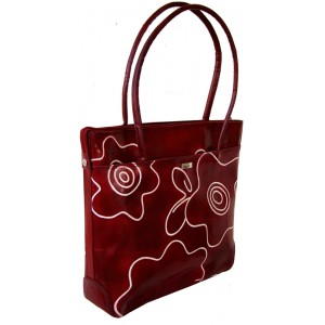 arpera | Leather Handbag | C11144B-4  | Maroon