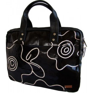 arpera | Leather Handbag | C11147-1A | Black