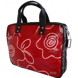 arpera | Leather Handbag | C11147-3 | Red