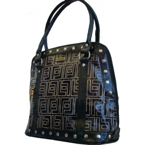 arpera | Leather Handbag | C11157-1 | Black