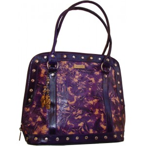 arpera | Leather Handbag | C11157-71 | Purple