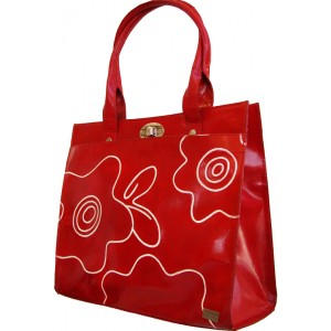 arpera | Leather Handbag | C11159-3 | Red