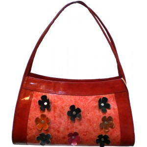 arpera | Leather Handbag | Lb19-3 | Red