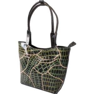 arpera | Leather Handbag | lb203-6A | Green