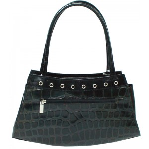 arpera | Leather Handbag | LB23-1C | Black