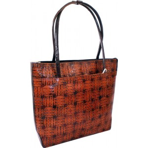 arpera | Leather Handbag | LB71-2 | Brown