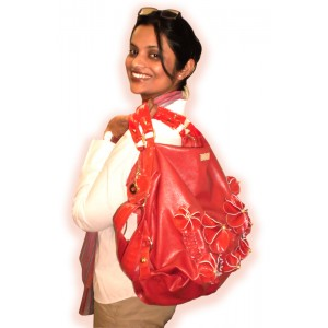 arpera   Handbag   c11193-3   Red