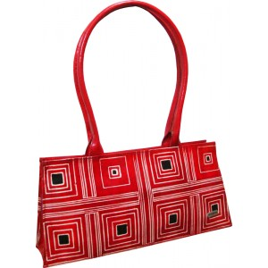 arpera | Leather Handbag | c11145-3 | Red
