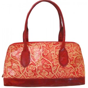 arpera | Leather Handbag | C11158-3A | Red | lata