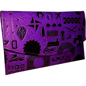arpera | Leather Clutch | 88A-71A | Purple
