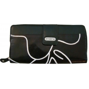 arpera  | Leather Purse | C11244b-1 | Black