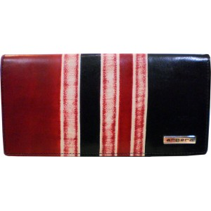 arpera | Leather Purse | C11162 | Black red