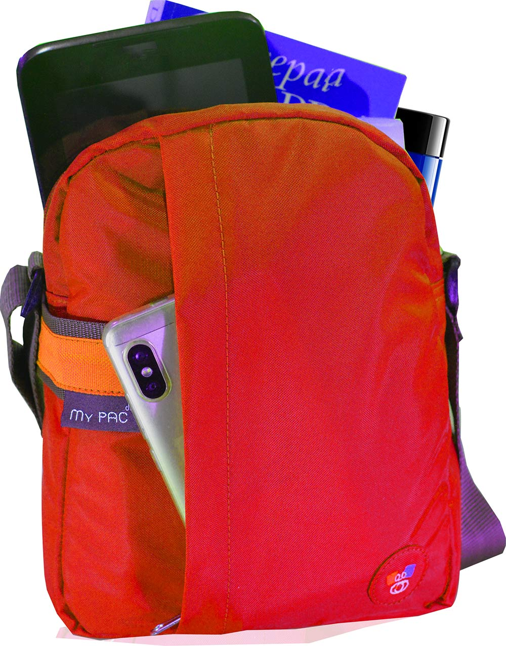 6c6fa8f3360 my pac ViVaa unisex waterproof Sling bag Red for C11593-3. Please upgrade  to full version of Magic Zoom™. Zoom. Move your mouse over image