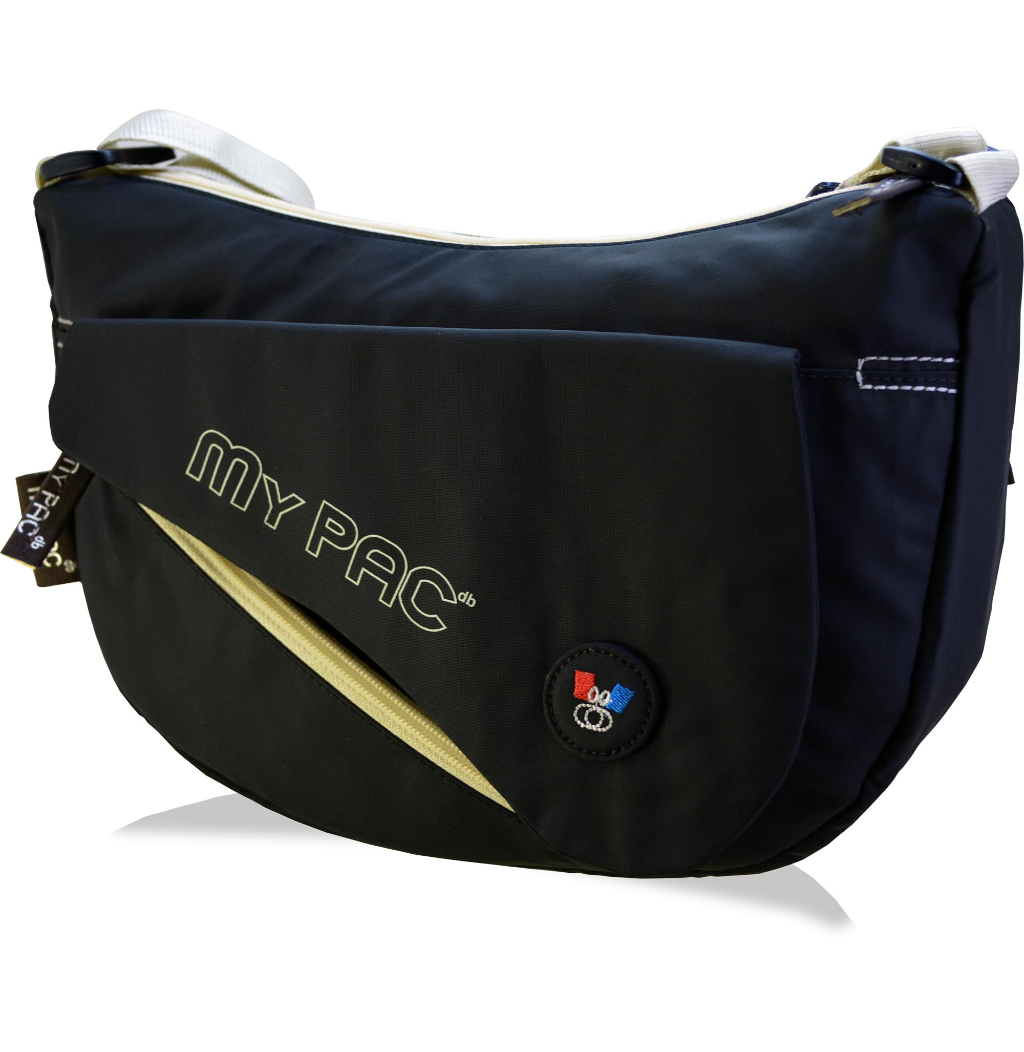 mypac-ViVaa Polyester Sling bag for girls black C11565-1