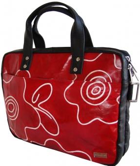 arpera | Leather Handbag | C11147-3 | Red