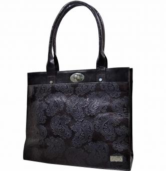 arpera   Leather Handbag   C11159-1B   Black