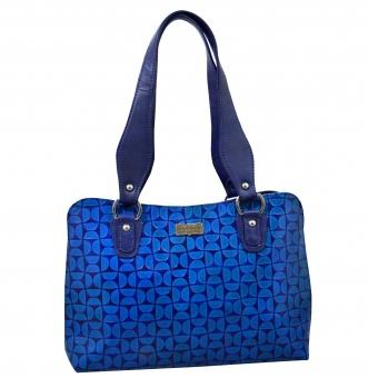 arpera | Leather Handbag | C11334-5 | Blue