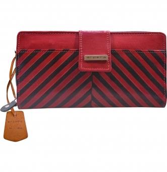 arpera  | Leather Purse | C11244-3A | Red