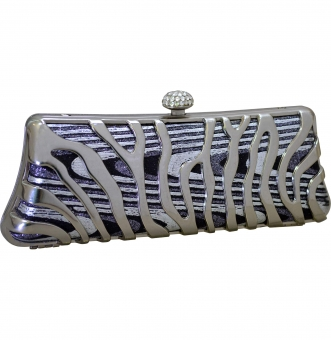 arpera silver evening clutch C11253-11
