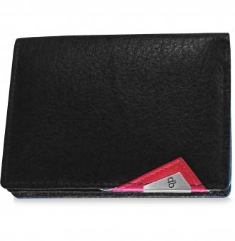 my pac cruise Genuine Leather Slim Card Holder  Black C11533-3