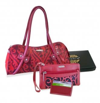 Arpera Leather Handbag gift combo for women CB16024