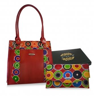 Arpera Leather Handbag gift combo for women CB16023