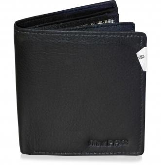 mypac-cruise  black Genuine Leather wallet C11574-1