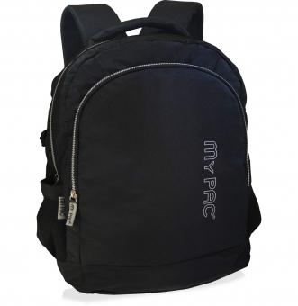 My Pac Ultra Trendy Black Laptop backpack for men C11591-1