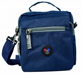 my pac ViVaa unisex waterproof Sling bag blue C11550-5