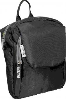 my pac ViVaa unisex waterproof mini backpack and sling bag Black C11594-1