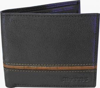 my pac db Vogue Rfid protected genuine leather  wallet Black -Tan C11596-121L